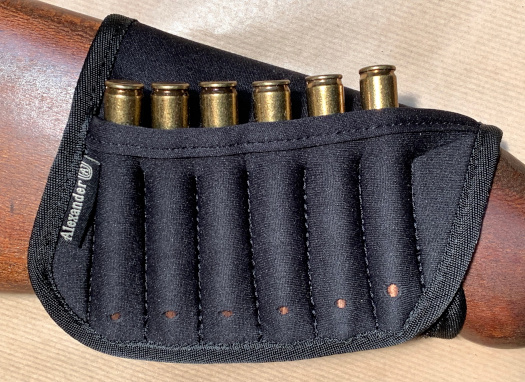 Buttstock Ammo Container