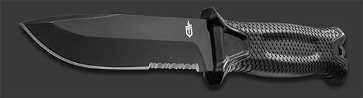 Gerber Strong-arm sort dolk serrated