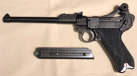 Luger P08 Hylster