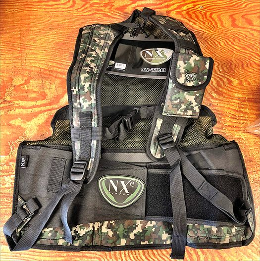 Tippmann NXe paintball kampvest