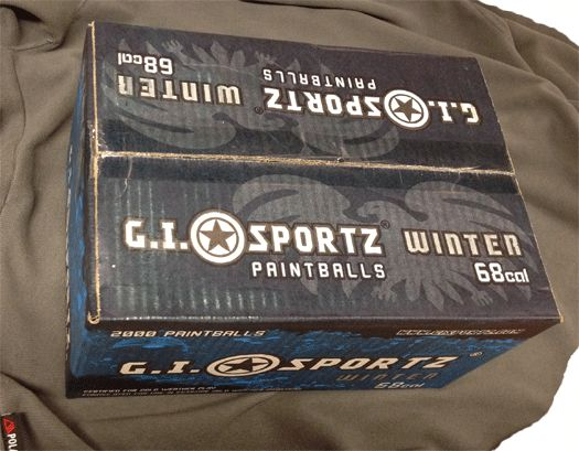 Paintball carton