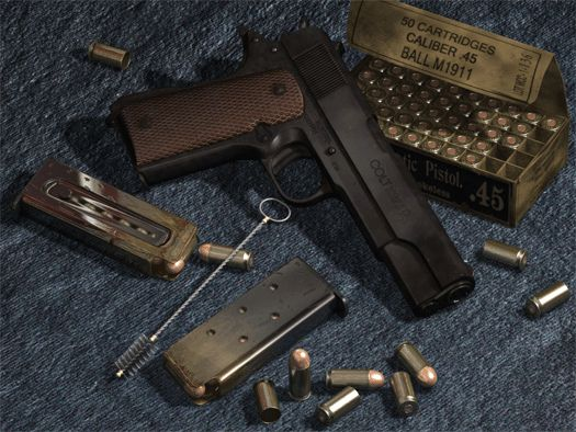 Colt 1911 A1 government pistol