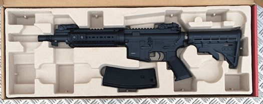 Arms Gallery´s Tippmann Arms M4 carbin med 10,3 tomme pibe
